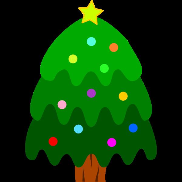 Christmas Tree Decoration Vector