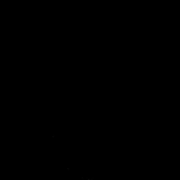 Water kanji character vector image