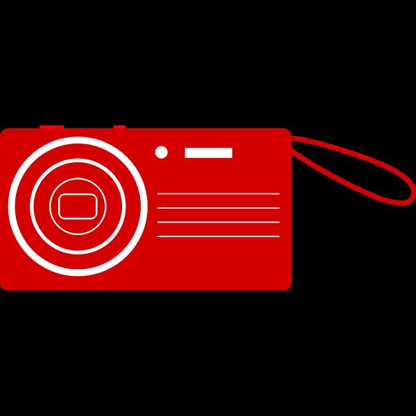 Camera clipart vector image