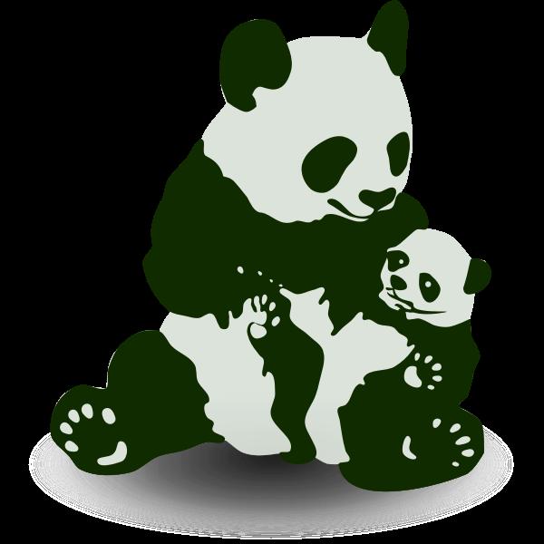 Panda & Baby Panda