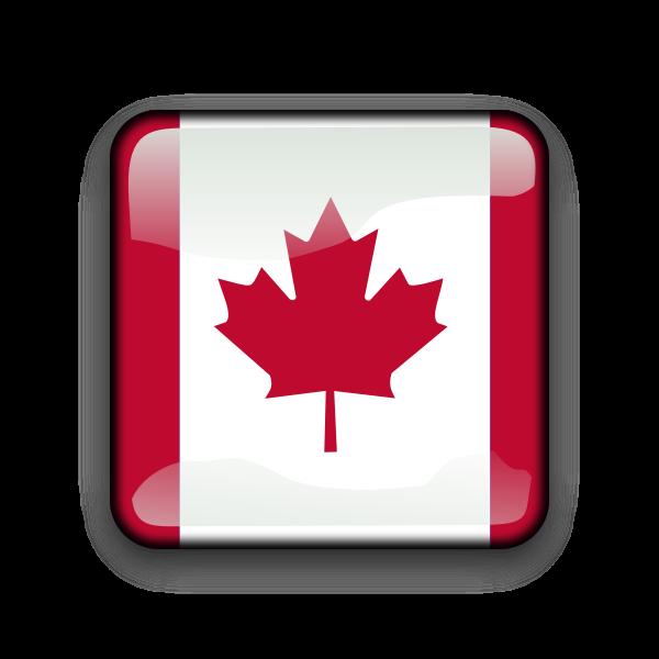 Canadian flag symbol