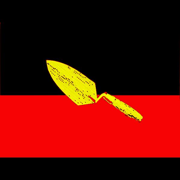 Aboriginal flag vector image