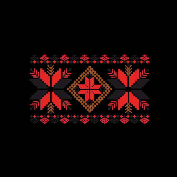 Fabric decoration pattern