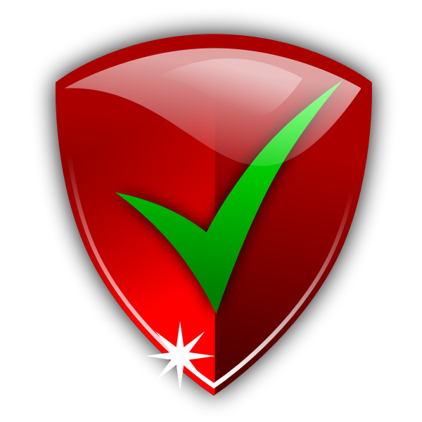 Confirmed security icon