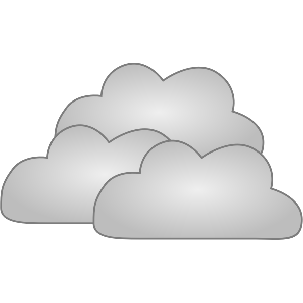 Internet clouds vector image