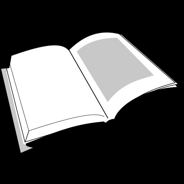 Open book stylized image