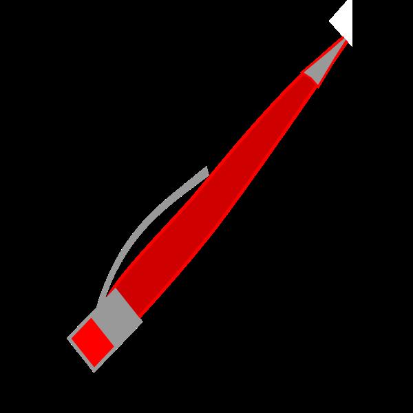 Vector of a pen