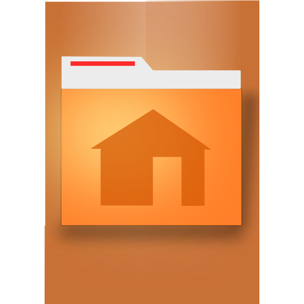 Source file container icon vector image