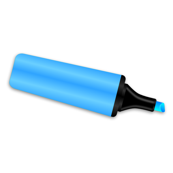 Vector illustration of felt tip