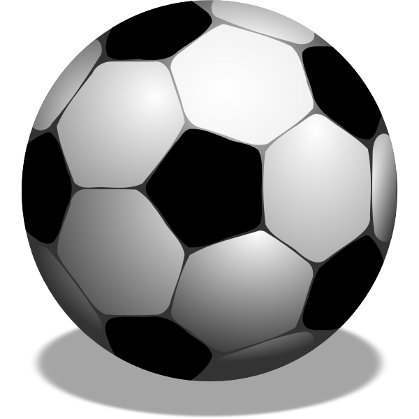 Soccer ball vector graphics