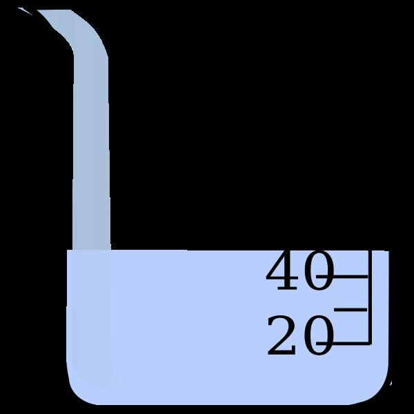 Beaker with water