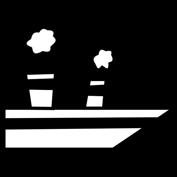 Cartoon ship vector graphics