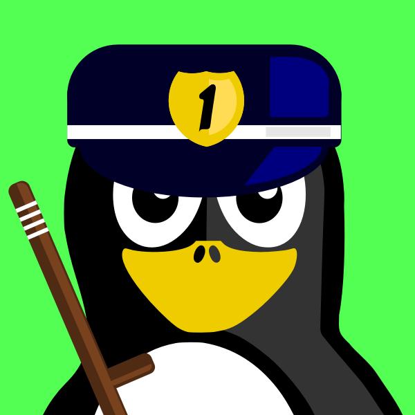Cop Penguin