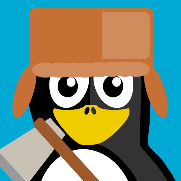 Lumberjack Penguin