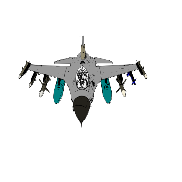Bomber Plane Vector Illustration Free Svg