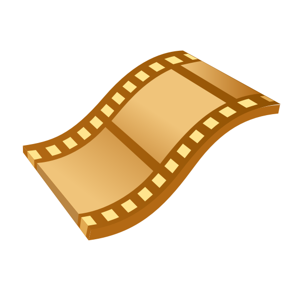 Video tape vector clipart