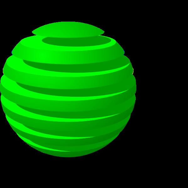 Sliced ball
