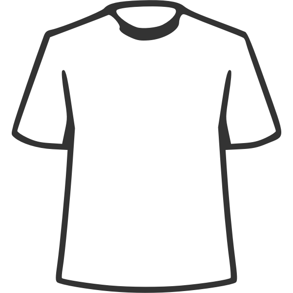 Simple outlined shirt