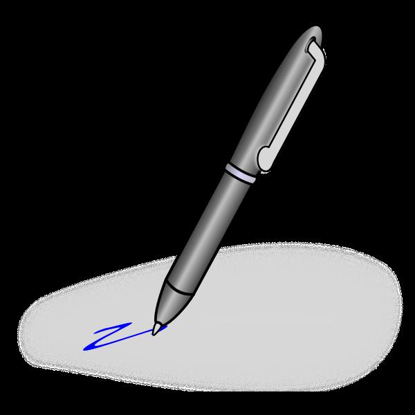 Pen vector graphics