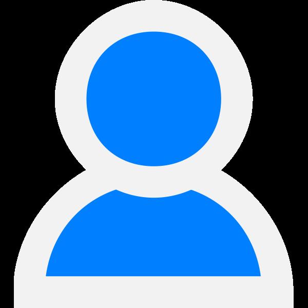 User avatar vector graphics