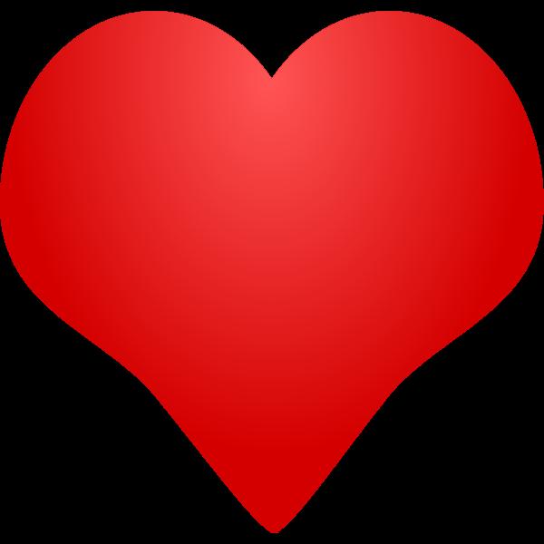 Illustration of red heart