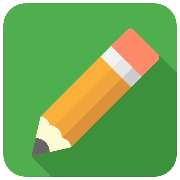 Pencil icon vector illustration