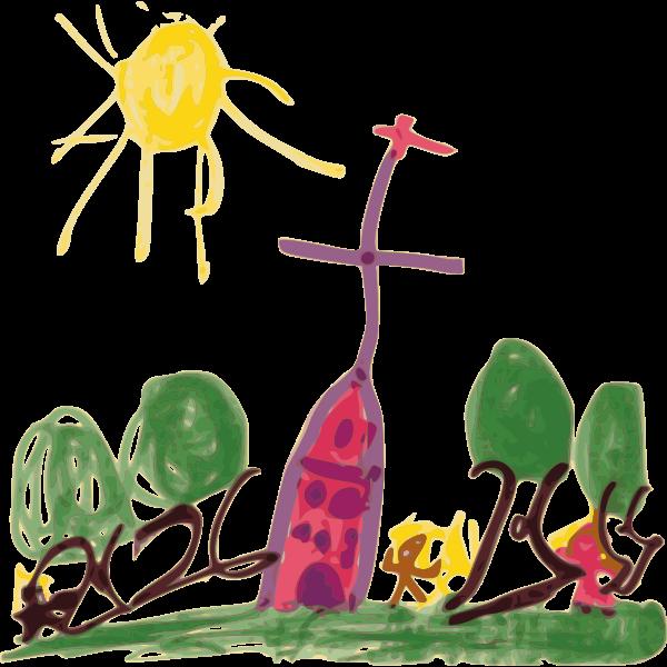 Kid's sketch
