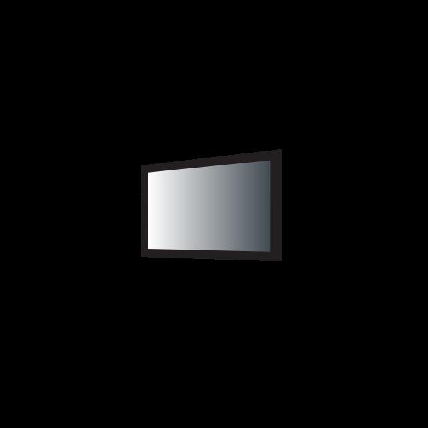 Vector graphics of TV set