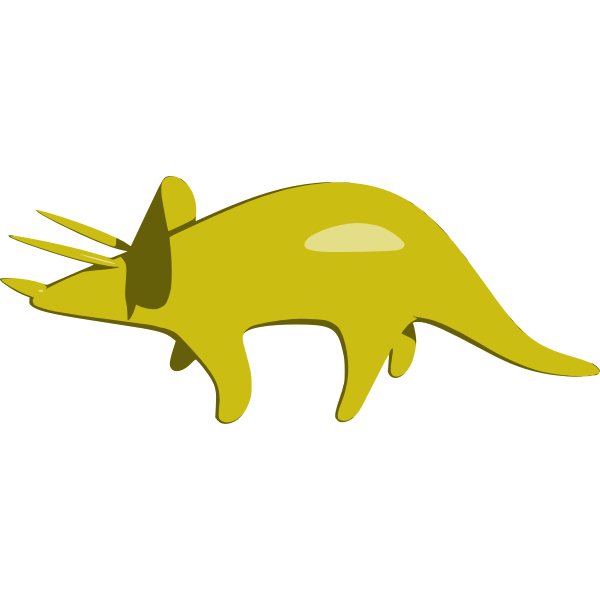 Triceratops Vector Graphics Free Svg