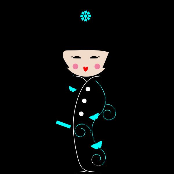 Geisha cartoon
