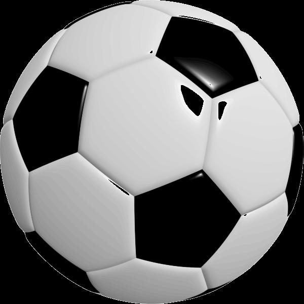 Photorealistic football ball vector image