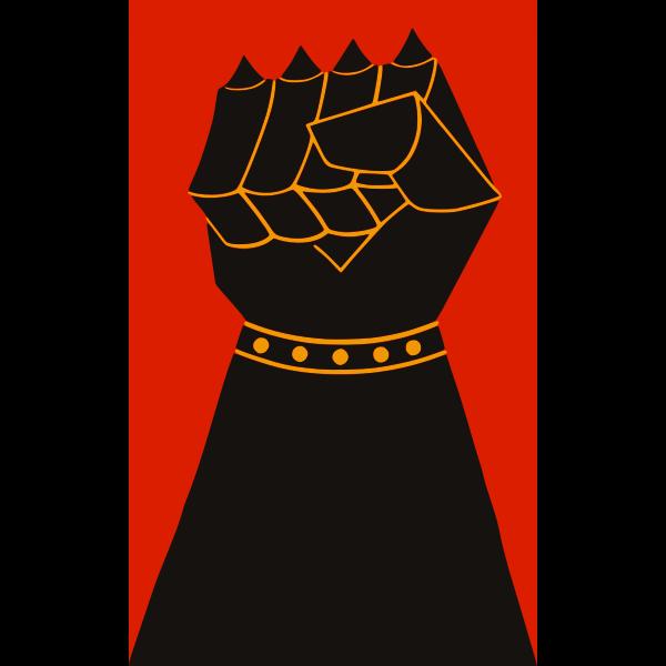 Power Fist Vector Illustration