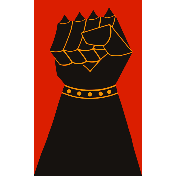 Power Fist Vector Illustration