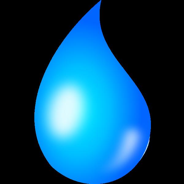 Water drop vector graphics