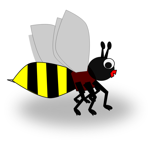Cute wasp