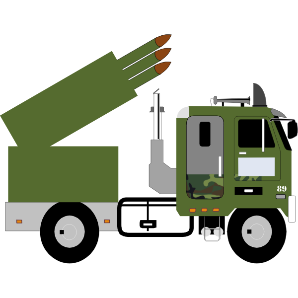 Military missile carrier