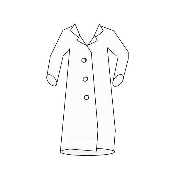 Download Lab coat-1573205990 | Free SVG