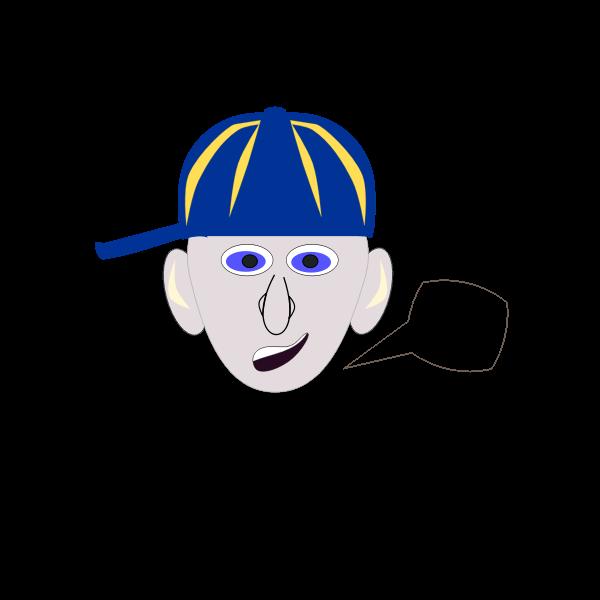 Boy with baseball cap