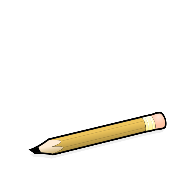 Comic pencil