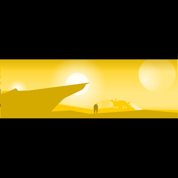Desert planet image