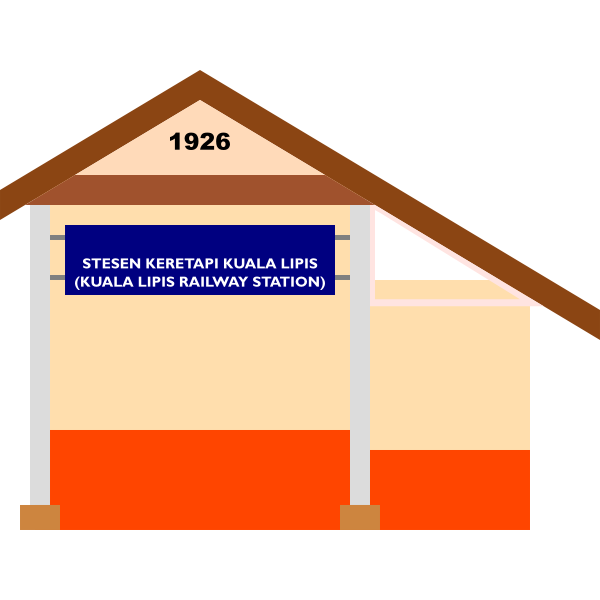 Kuala Lipis Railway Station (entrance only)
