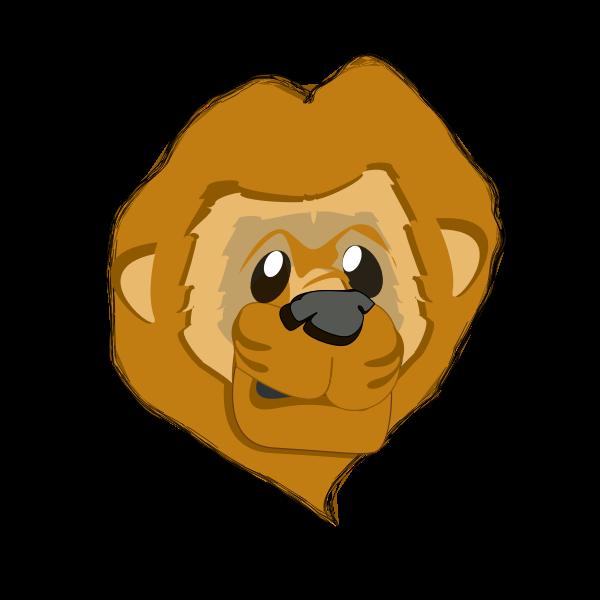 lion head - cabeza de león