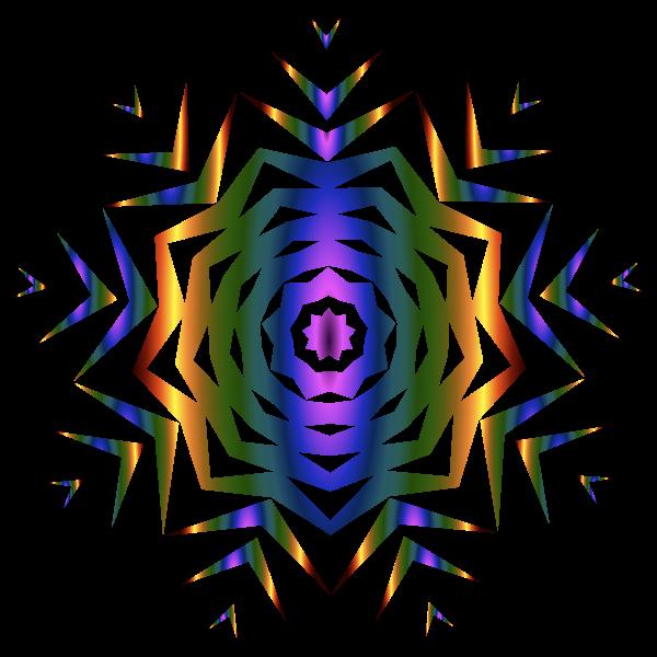 Prismatic Snowflake