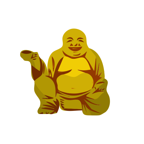 Buddha with cup