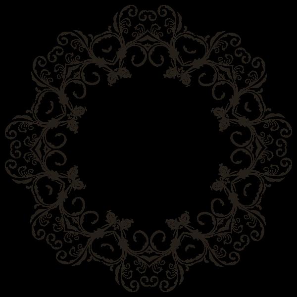 Floral Flourish Frame 2