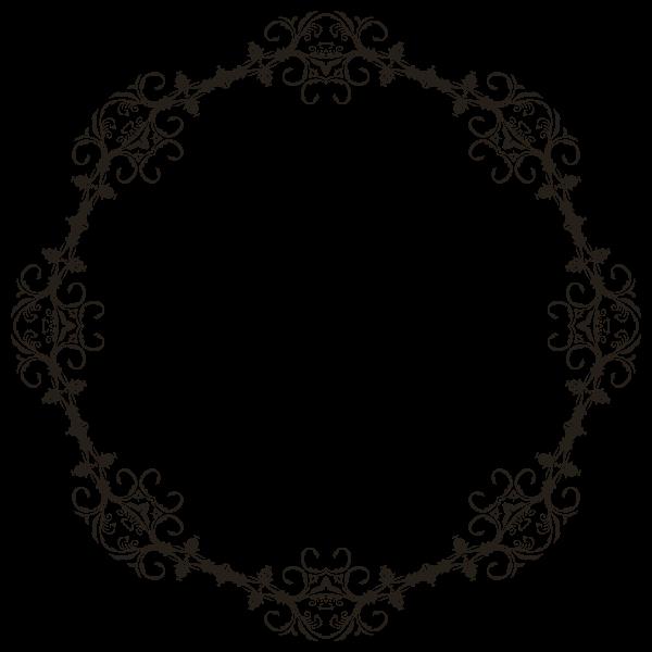 Floral Flourish Frame 3