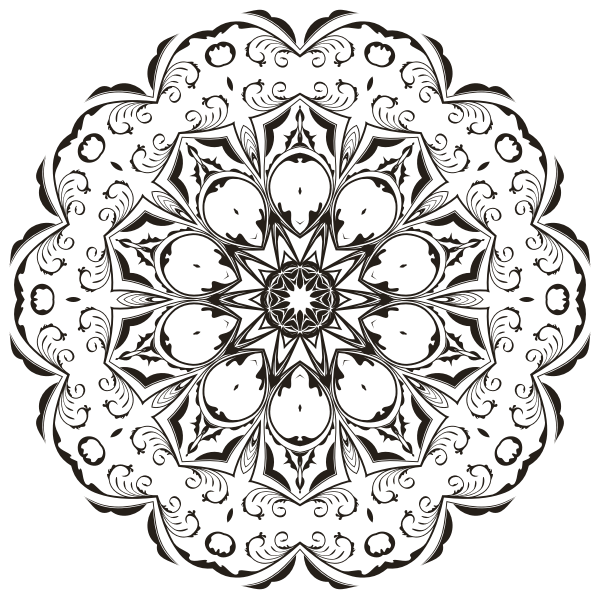 Floral Flourish Design 4