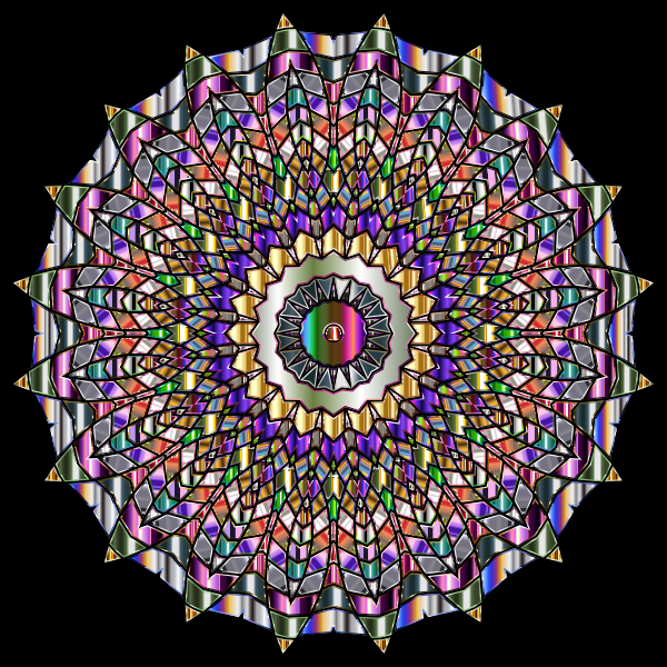 Chromatic Mandala-1586427056