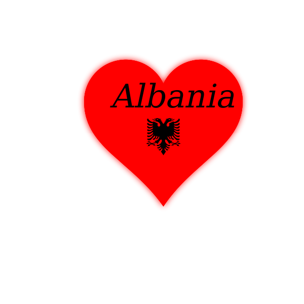 Albania my heart