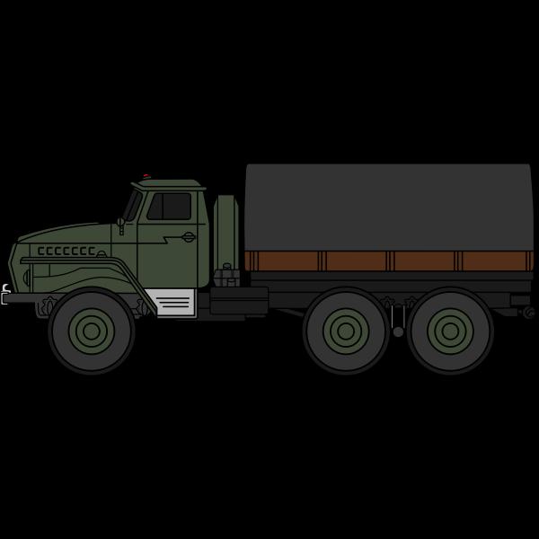 Ural-4320 military truck